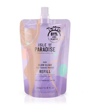Dark Glow Clear Self-Tanning Mousse Refill